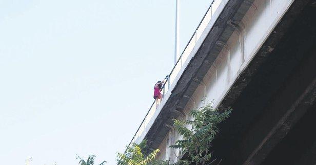 Köprüde panık!