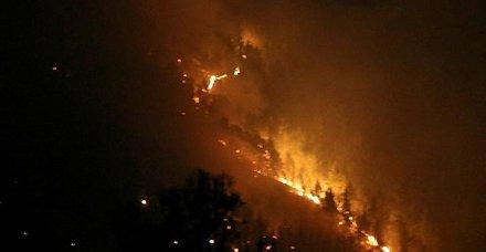 Antalya'da da yangın çıktı