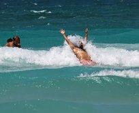 Ege Bölgesi'ndeki plajlarda turist patlaması!