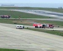 Trabzon Havalimanı'nda alarm