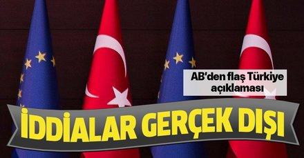 AB'den Türkiye fonlarında yeni kesinti olmayacak açıklaması