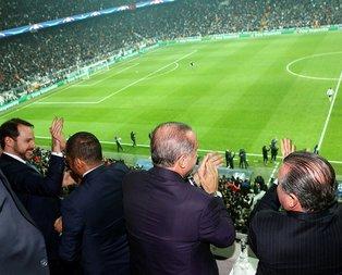 Cumhurbaşkanı Erdoğandan Beşiktaşa tebrik