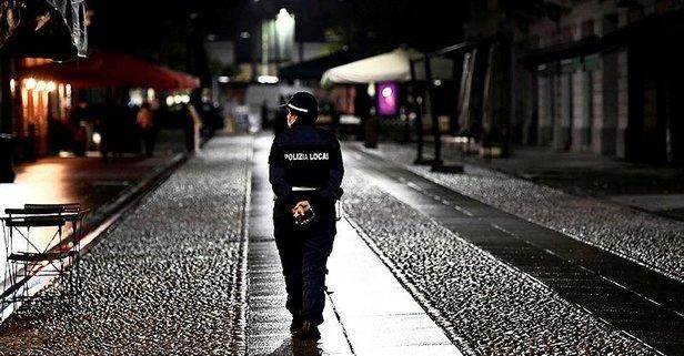 İtalya'da sokağa çıkma yasağı başladı