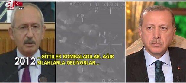 Erdoğandan Kılıçdaroğlu ve Tanrıkulunun SİHA açıklamalarına sert tepki!