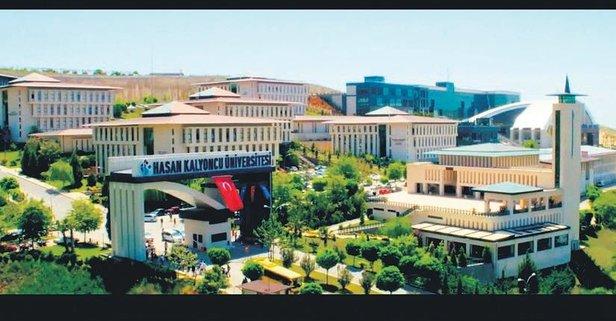 Hasan Kalyoncu Üniversitesi ilk 10'a girdi!