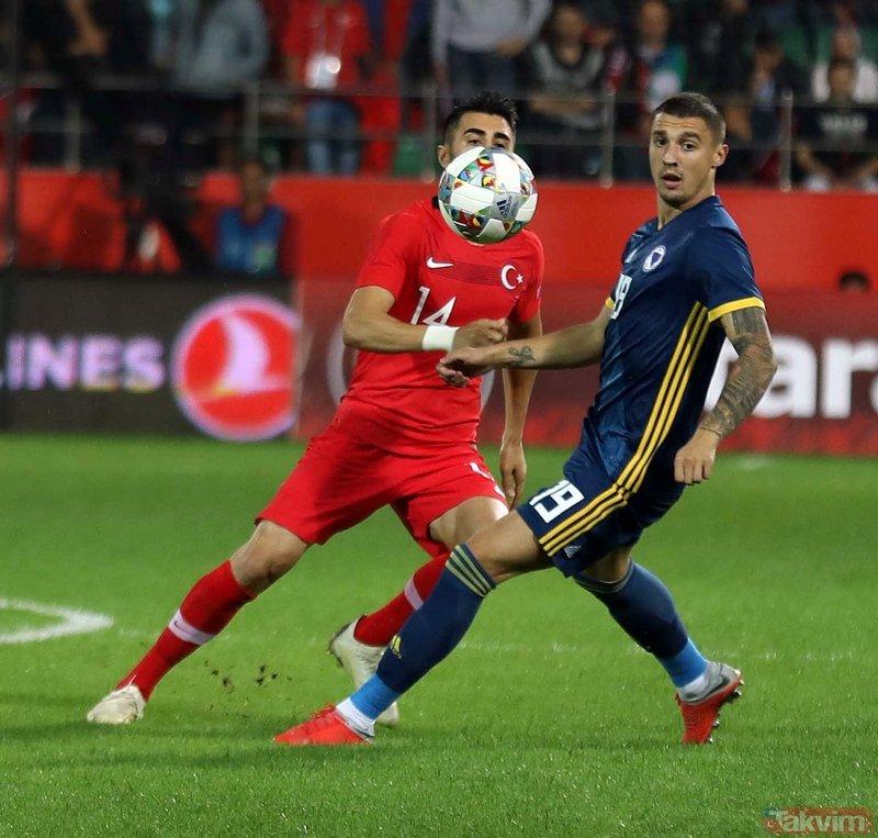 Rizede sessiz prova | Türkiye:0 Bosna Hersek:0 Maç sonucu