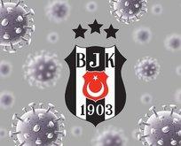 Beşiktaş'ta 8 kişinin Kovid-19 testi pozitif