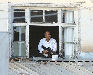 Ankarada hareketli dakikalar! Saldırgan vuruldu