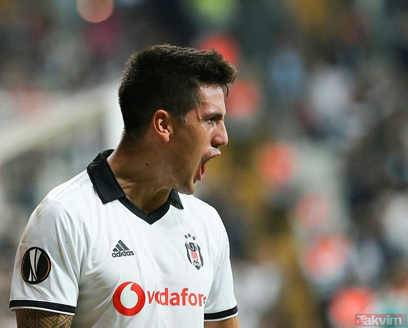 Beşiktaş - Sarpsborg maçından görüntüler