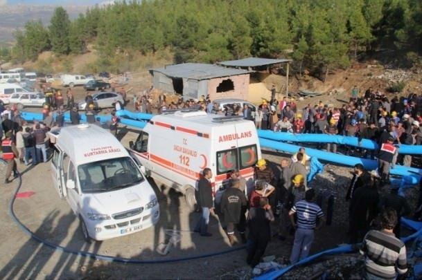 Karamanda kömür ocağında patlama