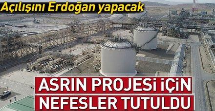 Türkiye ve Avrupa'nın en büyük enerji projesi 'TANAP' bugün açılıyor