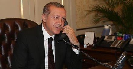 Başkan Recep Tayyip Erdoğan, Aliyev ve Mirziyoyev ile telefonda görüştü