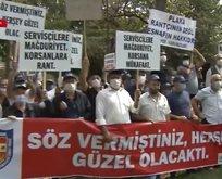 İBB ve Bakırköy Belediyesi önünde eylem! CHP'ye tepki yağdı