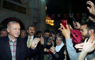 Başkan Erdoğan Eyüp Sultan türbesini ziyaret etti