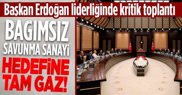 Başkan Erdoğan liderliğinde kritik toplantı!