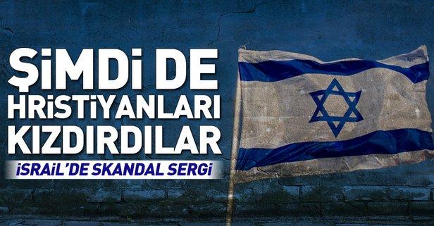 İsrail'deki skandal sergi Hristiyanları kızdırdı