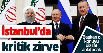 İstanbul'da iki kritik zirve birden! Başkan Erdoğan o konuyu bizzat anlatacak