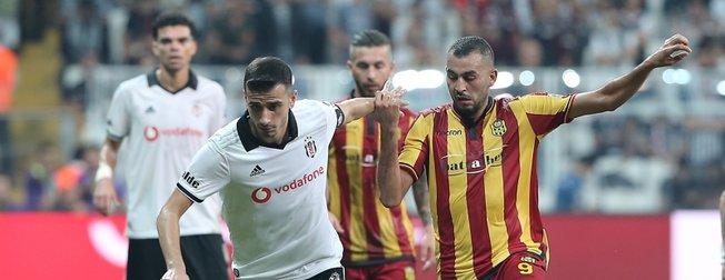 Beşiktaş, evinde Yeni Malatyaspor'u 2-1 mağlup etti