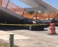 Floridada üst geçit çöktü: Ölü ve yaralılar var