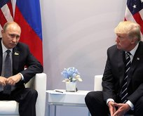 Trump ve Putinden kritik görüşme