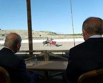 Başkan Erdoğan ve Bahçeli Ahlat'ta