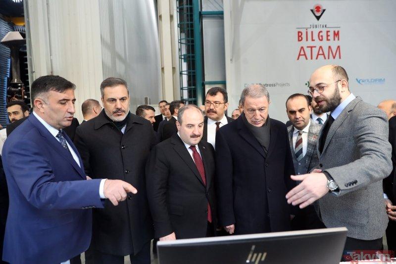 Son dakika: Bakan Akar ve Varank ile MİT Başkanı Fidan TÜBİTAK'ı ziyaret etti