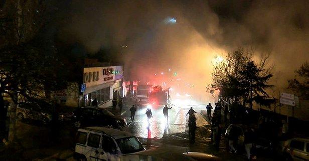 İstanbul'da korkutan yangın! Geri dönüşüm deposu...