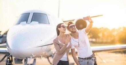 Sosyal medya çıktı sahtekarlık arttı! Gösteriş için özel jet kiralamaya başladılar
