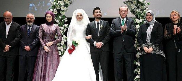 Cumhurbaşkanı Erdoğan nikah törenine katıldı