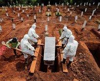 Koronavirüs kabusu Endonezya'yı fena vurdu!
