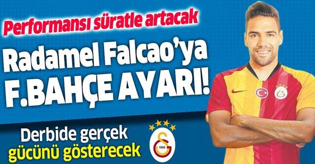 Falcao'ya Fener ayarı!