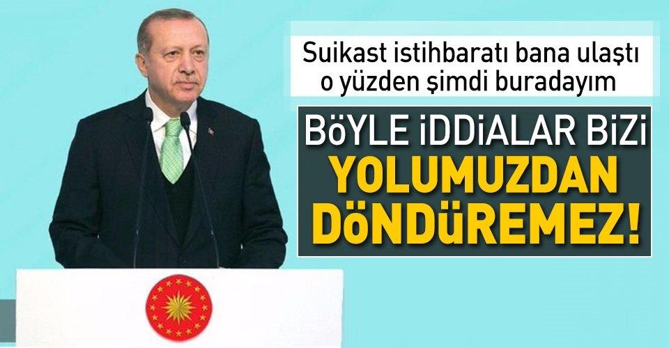 Erdoğan, Bosna Hersekte suikast iddialarına cevap verdi