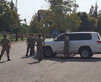 ABD ve Türk askerleri sınırda