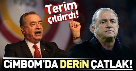 Galatasaray'da derin çatlak! Fatih Terim,  Mustafa Cengiz'le karşı karşıya...