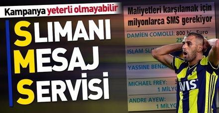 Fenerbahçe 2 günde Slimani'nin maliyetinin 4'te 1'i toplandı