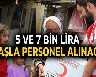5-7 bin lira maaşla KPSS'siz personel alınacak!