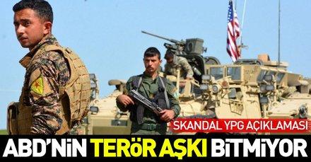 ABDden skandal YPG açıklaması!