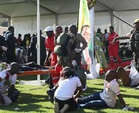 Zimbabvede Devlet Başkanına bombalı saldırı