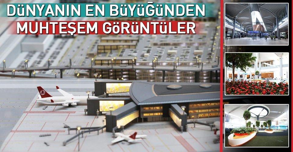 İstanbul Yeni Havalimanından muhteşem fotoğraflar