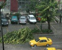 Meteoroloji'den sağanak yağış ve fırtına uyarı