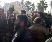Münbiç halkı PYD/PKK'nın vahşetine karşı ayaklandı