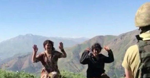 PKK'da çözülme! Bir bir teslim oldular!