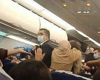 Uçakta kavga!