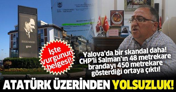 CHP'de Atatürk üzerinden yolsuzluk