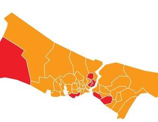 24 Haziran 2018 seçimlerinde İstanbul'un hangi ilçesi ne dedi?