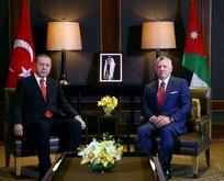 Erdoğan ve Ürdün Kralı 2. Abdullah'ın görüşmesinin ardından ortak bildiri yayımlandı
