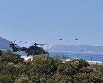 Akdeniz'den sıcak görüntüler! ATAK helikopterleri bölgede