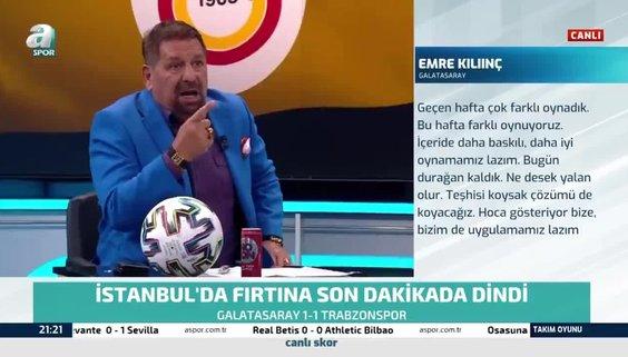 Usta yorumcu Erman Toroğlu'dan sert sözler : Galatasaray 1 puanı zor kurtardı!
