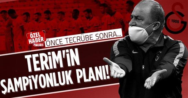 Terim'in şampiyonluk planı!