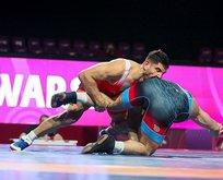 Milli güreşçi Taha Akgül Avrupa Şampiyonu oldu